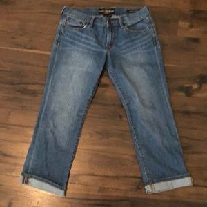 Lucky Cropped Jeans Size 2/26